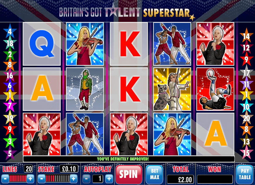 BritainS Got Talent Slots